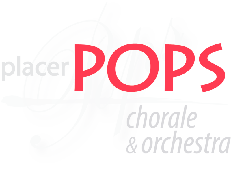 Placer Pops Chorale & Orchestra Official Logo