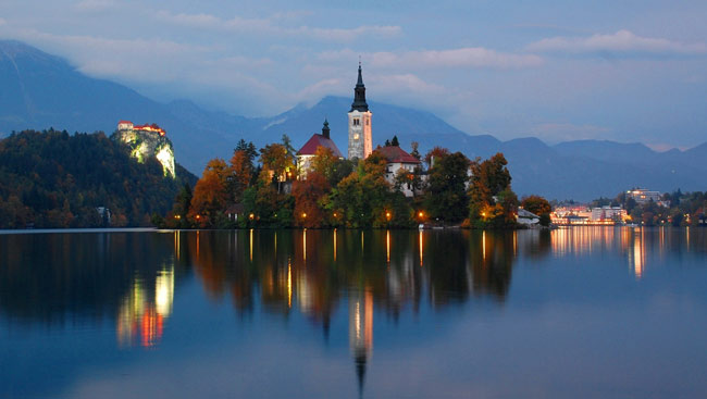 Placer Pops Chorale will visit Lake Bled in Slovenia - July 2017